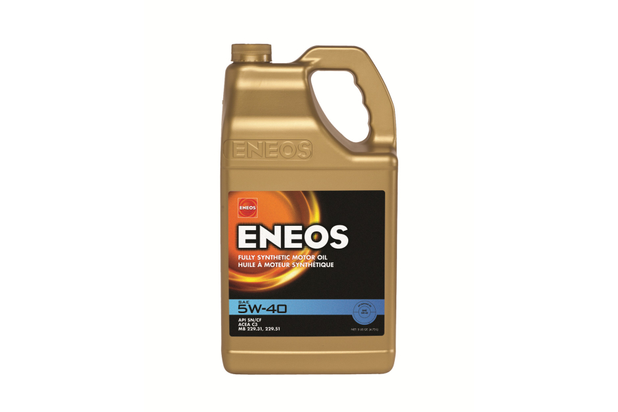 ENEOS 5W40 Full Synthetic Engine Oil 5qt - Universal