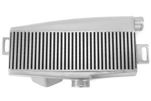 Mishimoto Silver Top Mount Intercooler w/ Red Hoses (Part Number: )