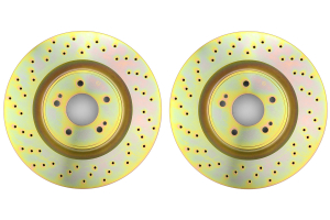 Brembo Sport Brake Rotor Pair Drilled Front ( Part Number: 33S50193)