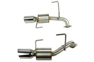 Nameless Performance Axleback Exhaust w/4in Tips (Part Number: )