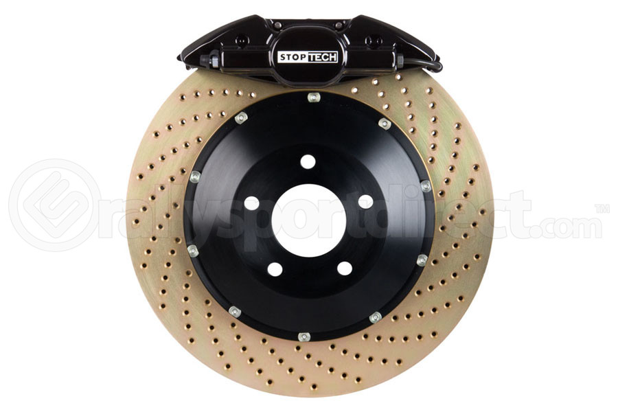 Stoptech ST-22 Big Brake Kit Rear 328mm Black Zinc Drilled Rotors (Part Number:83.836.0023.54)