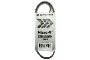 Gates RPM Micro-V Belt ( Part Number:GAT K050344RPM)