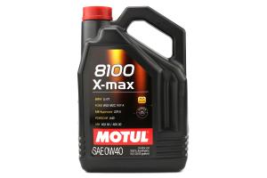 Motul 8100 X-MAX 0W40 Full Synthetic Engine Oil 5L - Universal