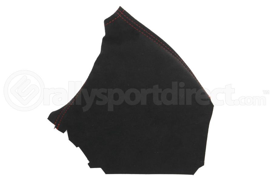 JPM Coachworks Handbrake Boot Black Alcantara Red Stitching ( Part Number:JPM 1204A40-R)