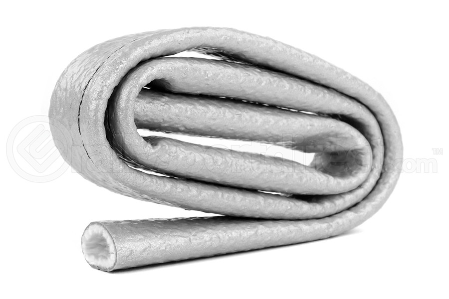 Thermo Tec Heat-Sleeves 3/4in x 3ft Silver (Part Number:18076)