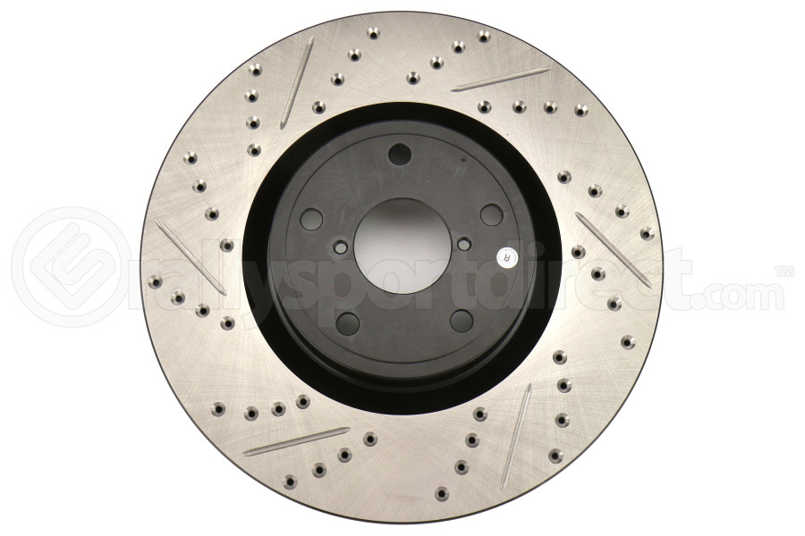 Stoptech Drilled and Slotted Rotor Single Front Right (Part Number:127.47022R)