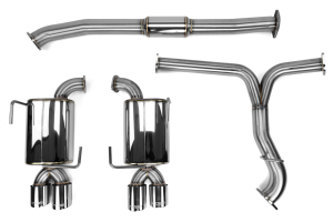 COBB Tuning 3in Turbo Back Exhaust Non Resonated J Pipe (Part Number: )