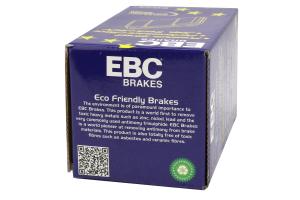 EBC Brakes Yellowstuff Street/Track Rear Brake Pads - 2008-2015 Mitsubishi Lancer Evolution