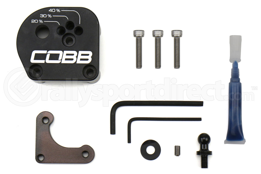 COBB Tuning Adjustable Shift Plate - Ford Models (inc. 2013+ Focus ST / 2016+ RS)