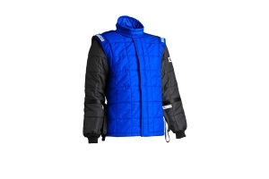 Sparco AIR-15 Drag Racking Jacket Black / Blue - Universal
