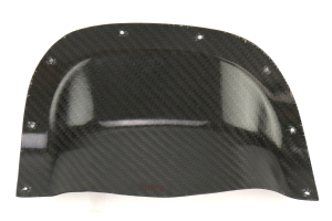 Subtle Solutions Carbon Fiber Exhaust Heatshield - Subaru Forester 2003-2008