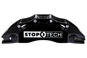 Stoptech ST-60 Big Brake Kit Front 355mm Black Slotted Rotors (Part Number: )