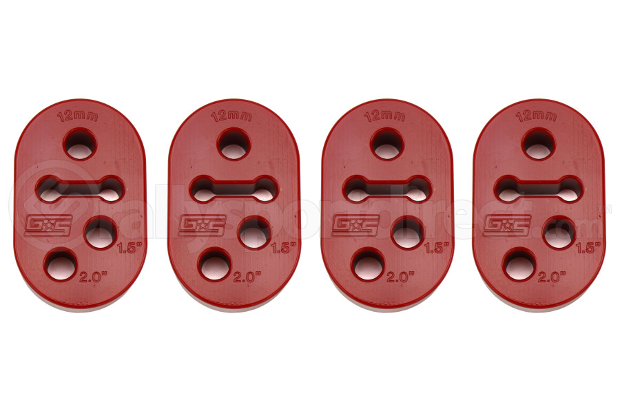 GrimmSpeed Two Position Poly Exhaust Hanger Set of 4 (Part Number:070047)
