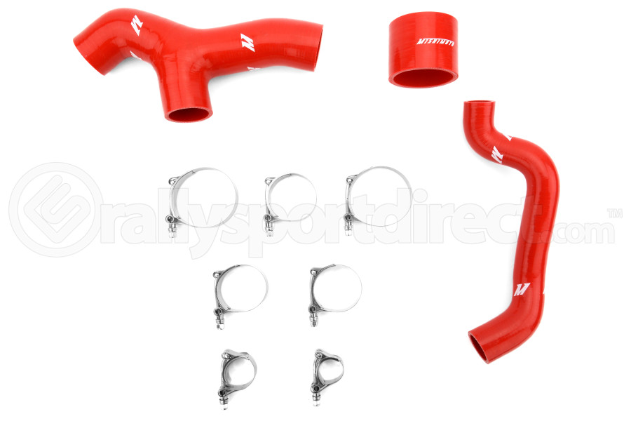 Mishimoto Silicone Intercooler Hoses Red (Part Number:MMHOSE-SUB-INT6RD)