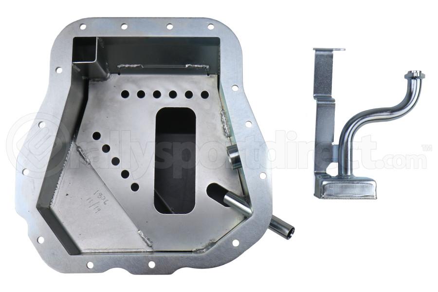 Moroso Steel Oil Pan w/ Pickup - Subaru Models (inc. 2002-2014 WRX / 2004-2014 STi)