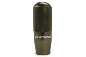 Carbing High Grip Shift Knob Gunmetal M10x1.50 ( Part Number:CA3 321 150 4)