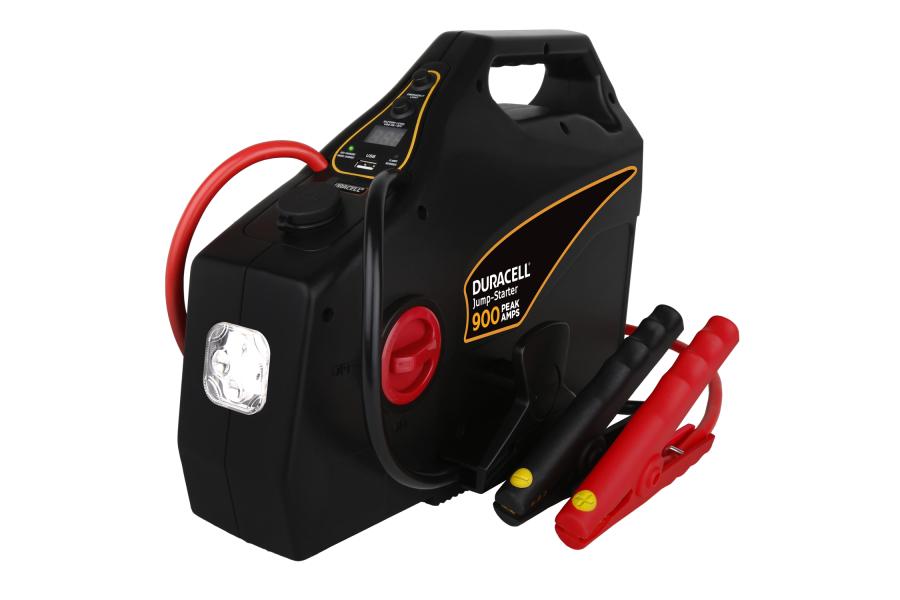 Duracell 900 Peak Amp Portable Emergency Jumpstarter - Universal