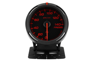 Defi Red Racer Pressure Gauge Imperial 60mm 140 PSI ( Part Number:DEF1 DF11602)