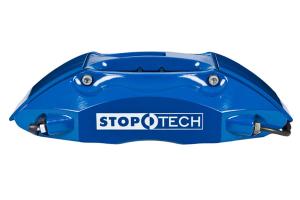 Stoptech ST-40 Big Brake Kit Front 332mm Blue Slotted Rotors (Part Number: )
