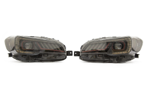 SubiSpeed Special Edition LED Headlights w/ DRL and Sequential Turns - Subaru WRX 2015 - 2018 / STI 2015 - 2017