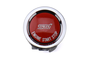 STI Push to Start Button Without Status Light - Subaru BRZ 2013+