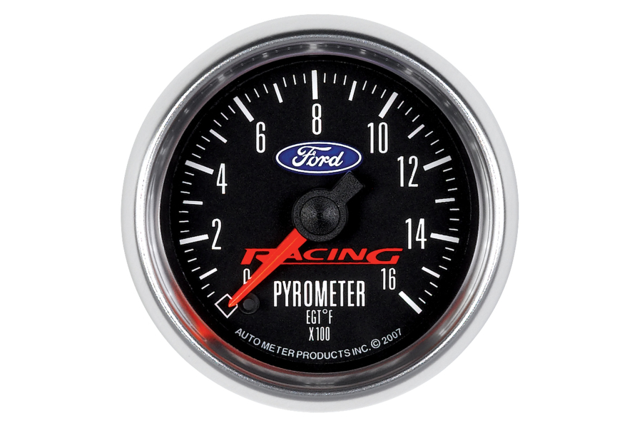 Autometer Ford Racing EGT Exhaust Gas Temperature Gauge 52mm - Universal