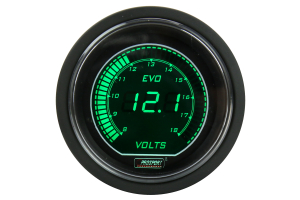 ProSport Volt Digital Display Green 52mm - Universal