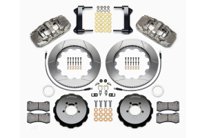 Wilwood AERO6 14in Front Kit Nickel - Subaru Models (inc. 2002-2014 WRX / 2004+ STI)
