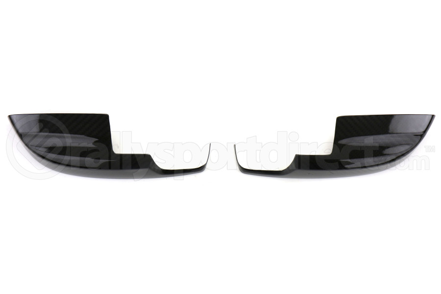 OLM S-line Dry Carbon Fiber Mirror Lower Covers (Part Number:MRC-WRX14-BGDCF)
