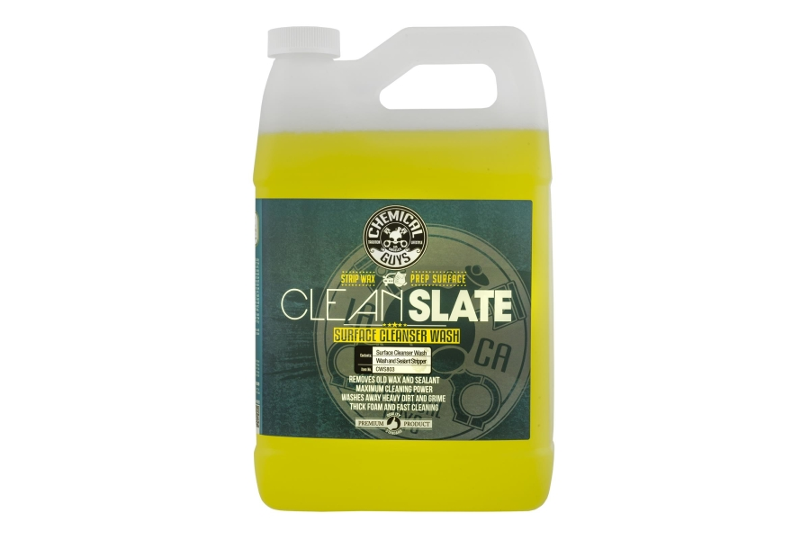 Chemical Guys Clean Slate Surface Cleanser Wash (Multiple Size Options) - Universal