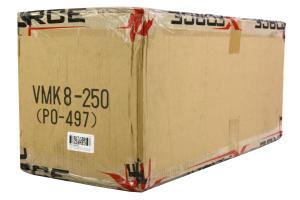 X-Force VAREX Muffler 15x6x9in Universal ( Part Number:XFO VMK8-250)