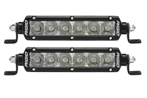 Rigid Industries E-Mark Spot Beam LED Light 6in Pair - Universal