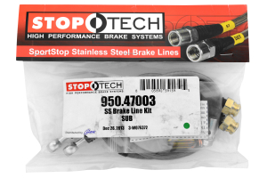 Stoptech Stainless Steel Brake Lines Front ( Part Number:STP 950.47003)