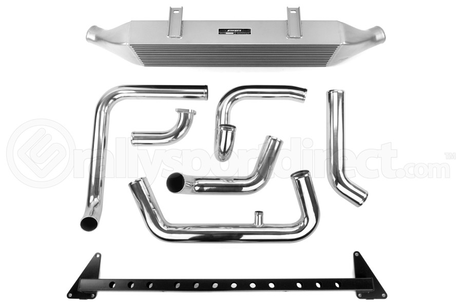 Mishimoto Front Mount Intercooler w/ Intake Silver ( Part Number:MIS MMINT-WRX-08AISL)