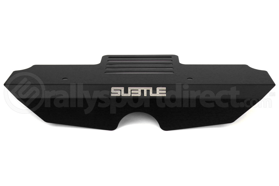 Subtle Solutions Alternator Cover Black (Part Number:ENG-1000-BLK)