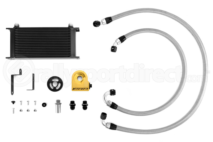Mishimoto Oil Cooler Kit Black ( Part Number:MIS MMOC-WRX-08TBK)