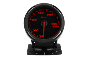 Defi Red Racer Temperature Gauge Imperial 60mm 100-300F (Part Number: )
