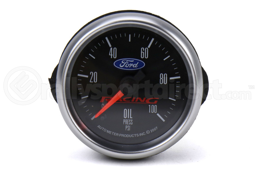 Autometer Ford Racing Oil Pressure Gauge Electrical 52mm - Universal