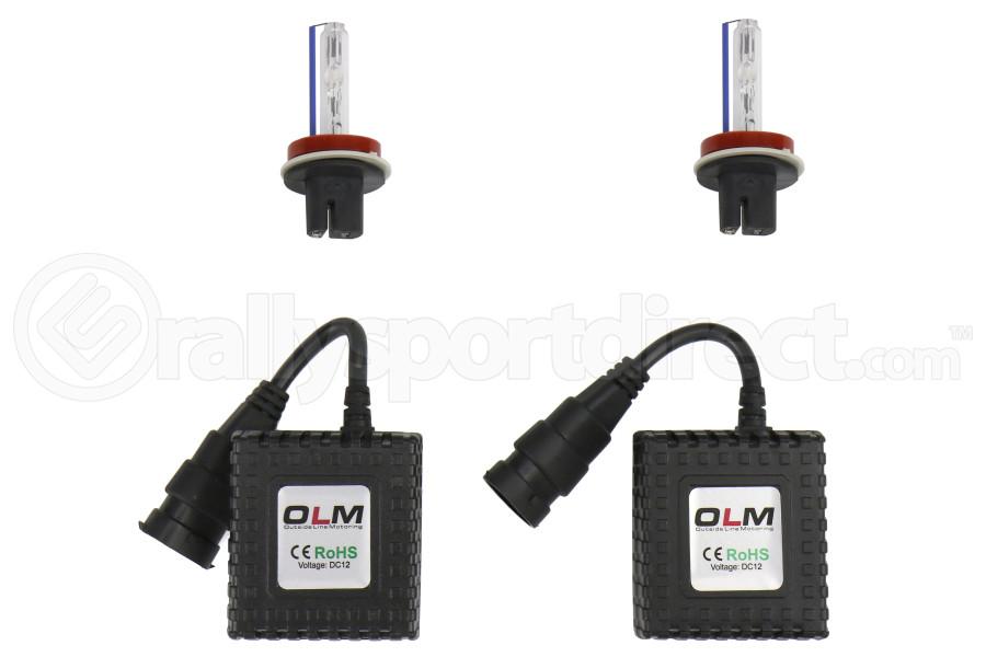 OLM Headlight Low Beam 35w HID Kit 8000k (Part Number:OLM-AIOH118000K)
