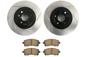 Stoptech Street Axle Pack Slotted Front ( Part Number: 937.47008)