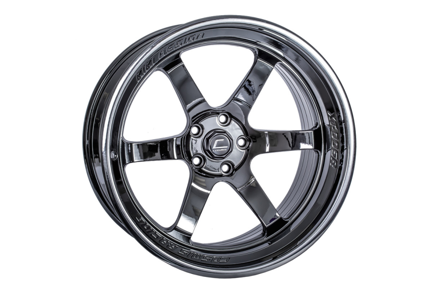 Cosmis Racing Wheels XT-006R 20x9.5 +10 5x114.3 Black Chome - Universal