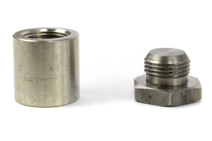 Innovate Motorsports Stainless Steel Extended 1in Oxygen Sensor Bung w/ Plug (Part Number: )