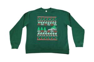 IAG Men's Ugly Christmas Crew Neck Sweatshirt Green - Universal