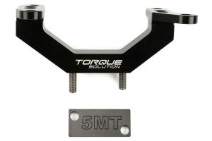 Torque Solution Solid Transmission Mount - Subaru STi 2004+ / WRX 2002+