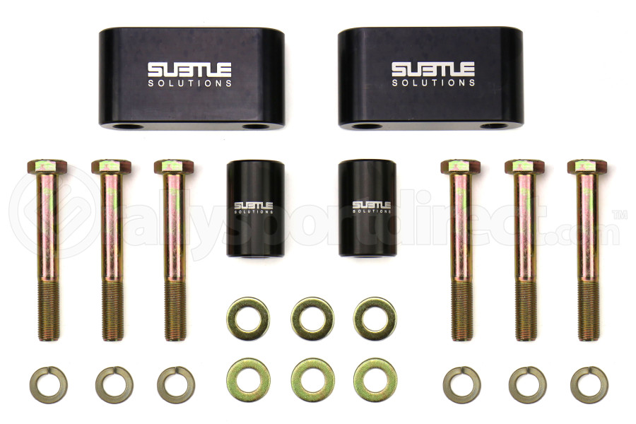 Subtle Solutions 2in Trailing Arm Rear Spacer Set - Subaru Models (inc. 1993-2007 Impreza / 1998-2008 Forester / 1995-1999 Outback)