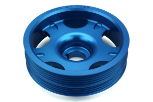 COBB Lightweight Crank Pulley Blue ( Part Number:COB 300102B)