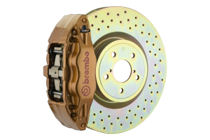 Brembo OE Gold Drilled Brake Kit Front (Part Number: )