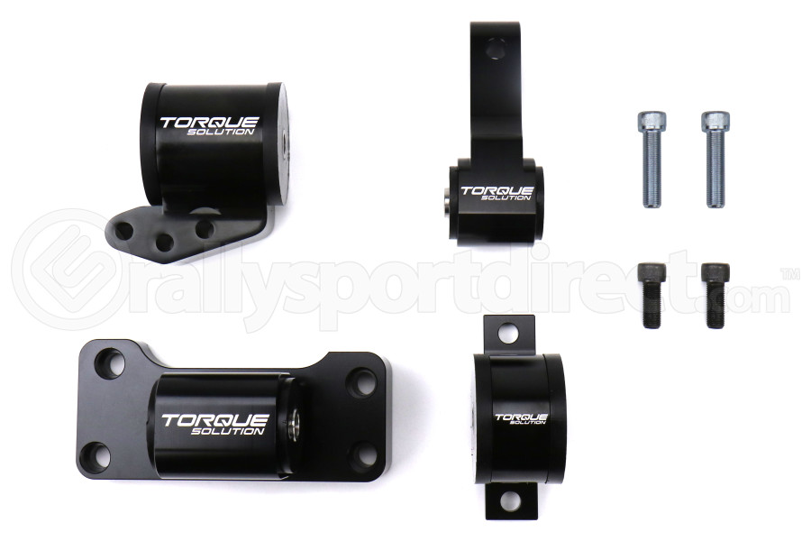 Torque Solution Billet Aluminum Engine Mount Kit - Mitsubishi Evo 8/9 2003-2006