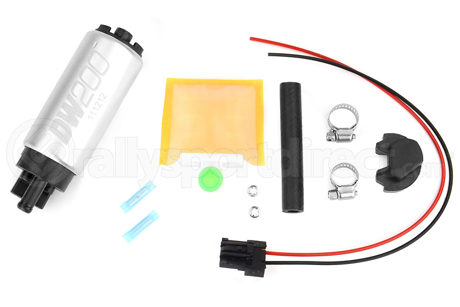 DeatschWerks DW200 Series Fuel Pump w/ Install Kit (Part Number:9-201-0766)