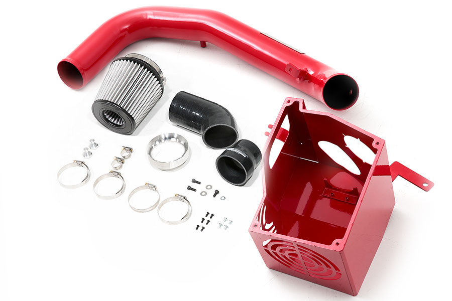cp-e aIntake Wet Flow Cold Air Intake w/ Air Box Race Red - Ford Focus ST 2015+